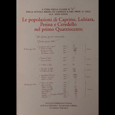 Le popolazioni di Caprino, Lubiara, Pesina e Ceredello nel primo Quattrocento