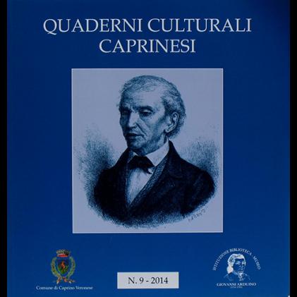Quaderni Culturali Caprinesi