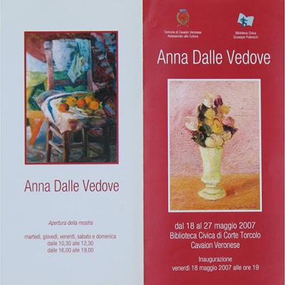 Mostra di Anna Dalle Vedove