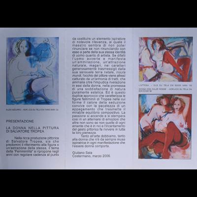 La donna nella pittura di Salvatore Tropea