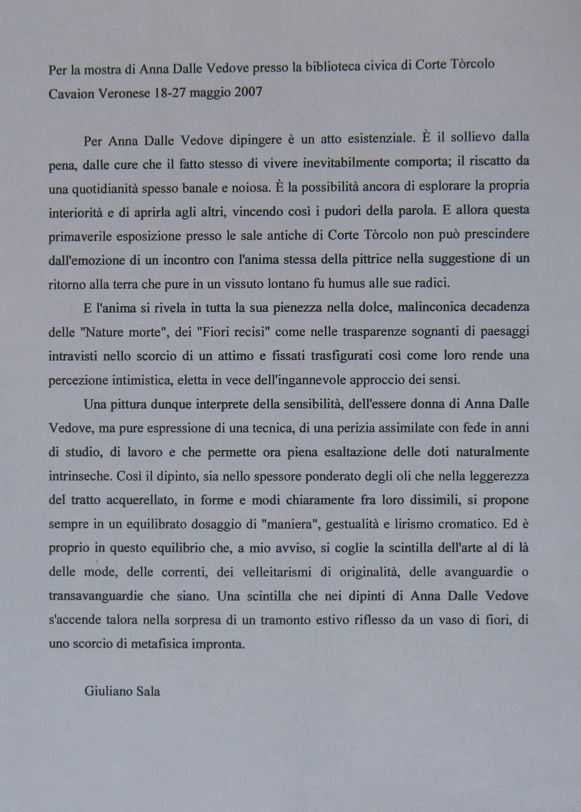 Anna Dalle Vedove